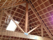 Trusses in a Vaulted Ceiling